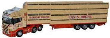 OXFORD DIECAST 76SCA02LT OO SCALE Scania HoughtonParkhouse Livestock Transporter